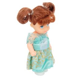 Кукла Игруша Princess Брюнетка в зеленом платье