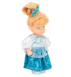 Кукла Игруша Princess Блондинка в голубом платье