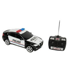 Машина на радиоуправлении GK Racer Series BMW-X6 цвет: белый/черный 33 см 1 : 14
