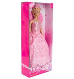 Кукла Anlily Невеста Блондинка в розовом платье 29 см