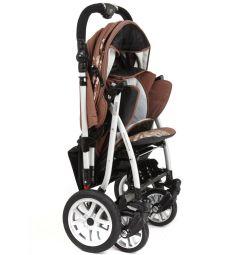 Прогулочная коляска Capella S-803WF Сибирь, цвет: коричневый
