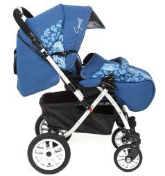 Прогулочная коляска Capella S-803WF Сибирь, цвет: синий