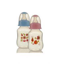 Бутылочка Ням-Ням для кормления полипропилен с рождения, 150 мл, цвет: голубой