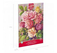 Альбом для рисования А4 20л ArtBerry Розы с бумагой для акварели