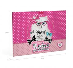 Альбом для рисования А4 40л Erich Krause Cool Cat