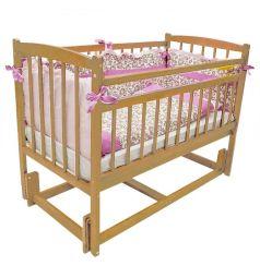 Кровать Массив Бэби-3, цвет: светлый