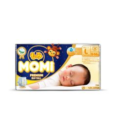 Трусики-подгузники Momi Premium Night (9-14 кг) 30 шт.