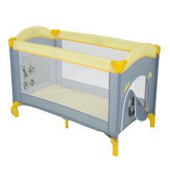 Манеж Capella Sweet Time Cosmocats (B), цвет: желтый/серый