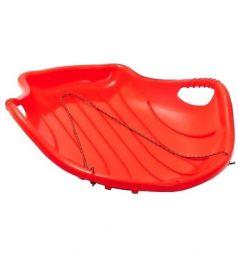 Санки Пластик Снежный скат, цвет: красный