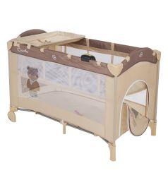 Манеж-кровать Capella Sweet Time Bear, цвет: бежевый