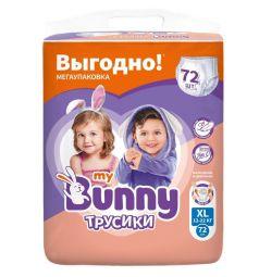 Трусики-подгузники My Bunny Детские (12-22 кг) 72 шт.