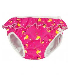 Трусики ImseVimse для купания Pink Flamingo Frill (3-16 кг) 1 шт.