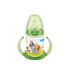 Бутылочка Nuk First Choice Disney обучающая полипропилен 6-18 мес, 150 мл, цвет: зеленый