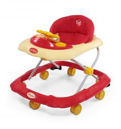 Ходунки Baby Care Optima, цвет: red