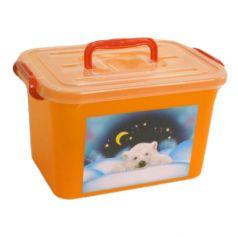 Ящик для игрушек Полимербыт Радуга