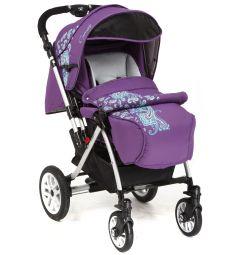 Прогулочная коляска Capella S-803WF Сибирь, цвет: фиолетовый