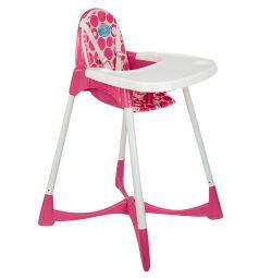 Стульчик для кормления Pilsan Elite Baby High, цвет: розовый