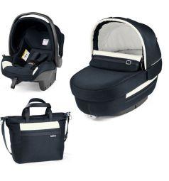 Набор для трансформации Peg-Perego Люлька Navetta Elite + автокресло Primo Viaggio Tri-Fix + сумка Borsa, цвет: luxe prestige