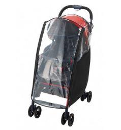 Дождевик Aprica для коляски Magical Air, цвет: черный/прозрачный