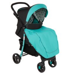 Прогулочная коляска Corol S-8, цвет: бирюзовый