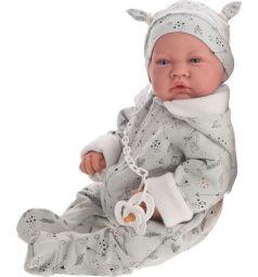 Кукла-младенец Juan Antonio Алехандро в голубом 40 см