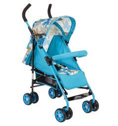 Коляска-трость Glory 1105 L, цвет: голубой