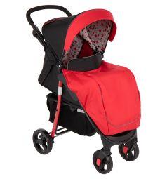 Прогулочная коляска Corol S-8, цвет: красный