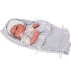 Кукла-младенец Juan Antonio Эмилио в голубом 33 см