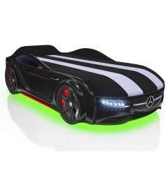 Кровать-машина Romack Junior AMG, цвет: черный