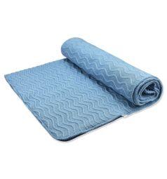 Одеяло Leo 90 х 100 см, цвет: голубой