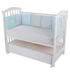 Leader Kids Бортик в кроватку 30 х 30 см, цвет: голубой