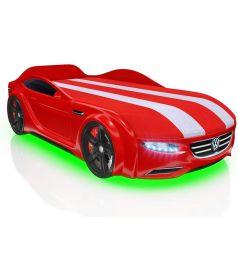 Кровать-машина Romack Junior Passat, цвет: красный