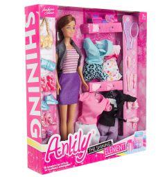 Игровой набор Anlily Кукла с аксессуарами 29 см