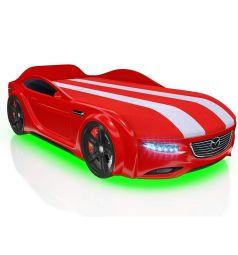 Кровать-машина Romack Junior Cx5, цвет: красный