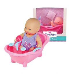 Пупс Mary Poppins Крошка Тини в ванночке 12 см