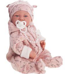 Кукла-младенец Juan Antonio Алехандра в розовом 40 см