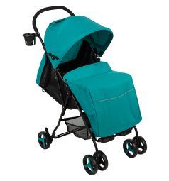 Прогулочная коляска Glory 1008, цвет: голубой/мелодия