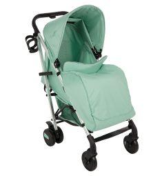 Прогулочная коляска McCan M1, цвет: ментол/серебро