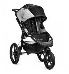 Прогулочная коляска Baby Jogger Summit X3, цвет: black/grey