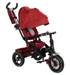 Трехколесный велосипед McCan M-8, цвет: красный