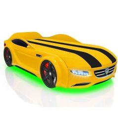 Кровать-машина Romack Junior Passat, цвет: желтый