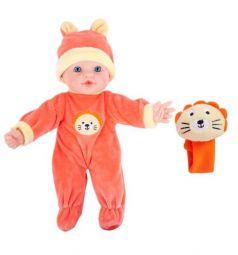 Пупс Mary Poppins Моя первая кукла Бекки с игрушкой, цвет: оранжевый 30 см