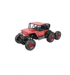 Машинка на радиоуправлении Пламенный мотор Краулер Штурм, цвет: красный 36 см