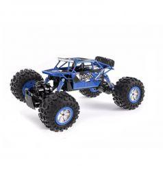 Машинка на радиоуправлении Пламенный мотор Краулер Амфибия, цвет: синий 35 см 1 : 12