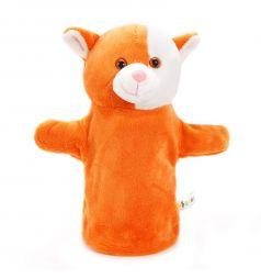 Кукла на руку Жирафики Котенок 25 см