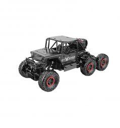 Машинка на радиоуправлении Пламенный мотор Краулер Штурм, цвет: черный 36 см