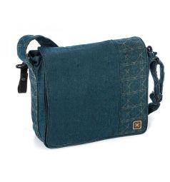 Сумка для колясок Moon Messenger bag, цвет: jeans
