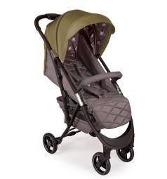 Прогулочная коляска Happy Baby Eleganza V2, цвет: dark green