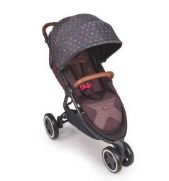 Прогулочная коляска Happy Baby Wylsa, цвет: bordo