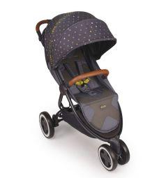 Прогулочная коляска Happy Baby Wylsa, цвет: grey